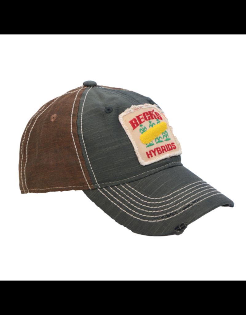 Cap America Grunge Patch Hat