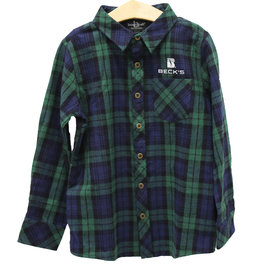 Boxercraft Youth Flannel Buttondown