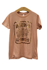 Bella+Canvas Girls 'Vintage Logo' Foil T-Shirt