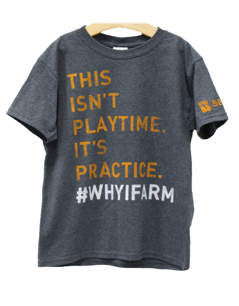 Gildan This Isn't Playtime. It's Practice # whyifarm