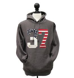 Pro Weave American Flag 37 Hoodie