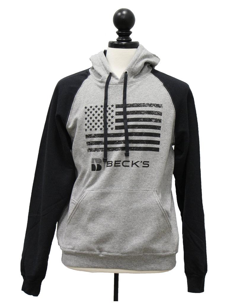 Jerzees Jerzee American Flag Hoodie