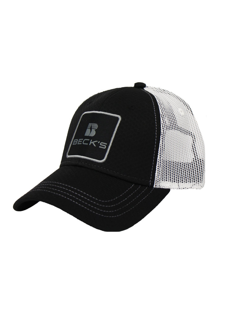 Stacked Logo Mesh Patch Hat