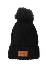 Leeman Fur Pom Beanie