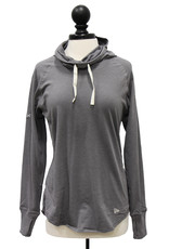 New Era Women's New Era Sueded Cowlneck Shirt