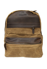 Cambridge Canvas & Leather Backpack