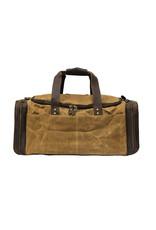 Cambridge Canvas & Leather Duffel Bag