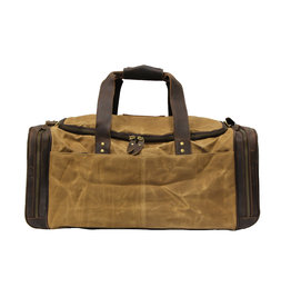 Cambridge Canvas & Leather Duffel Bag