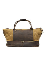 Cambridge Canvas & Leather Weekend Shoulder Bag