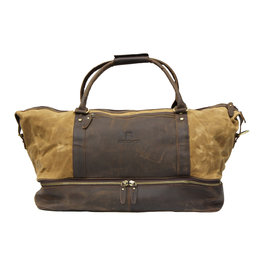 Cambridge Canvas & Leather Weekend Shoulder Bag