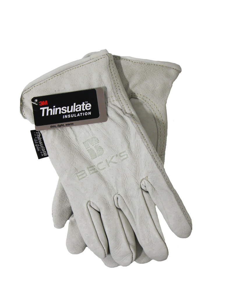 ASI Insulated Buffalo Hide Gloves