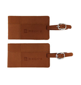 Leeman Tuscany Luggage Tags (Set of 2)