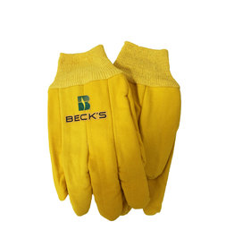 Graystone Graphics Yellow Cotton Gloves (1 dozen bundle)