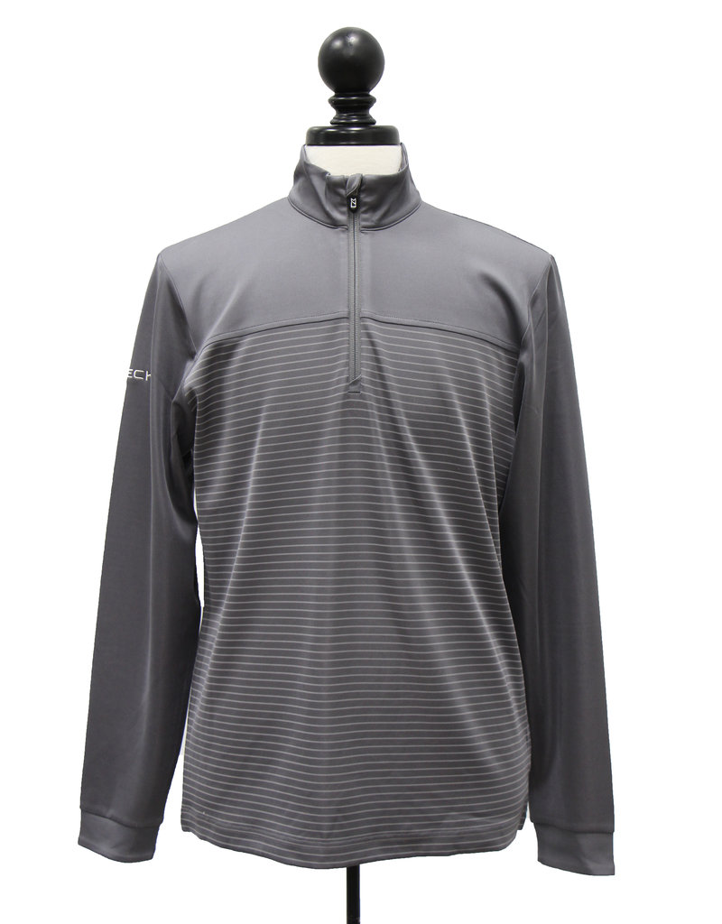 Cutter and Buck Men's Cutter+Buck Traverse Stripe 1/4 Zip