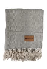halo Herringbone Blanket