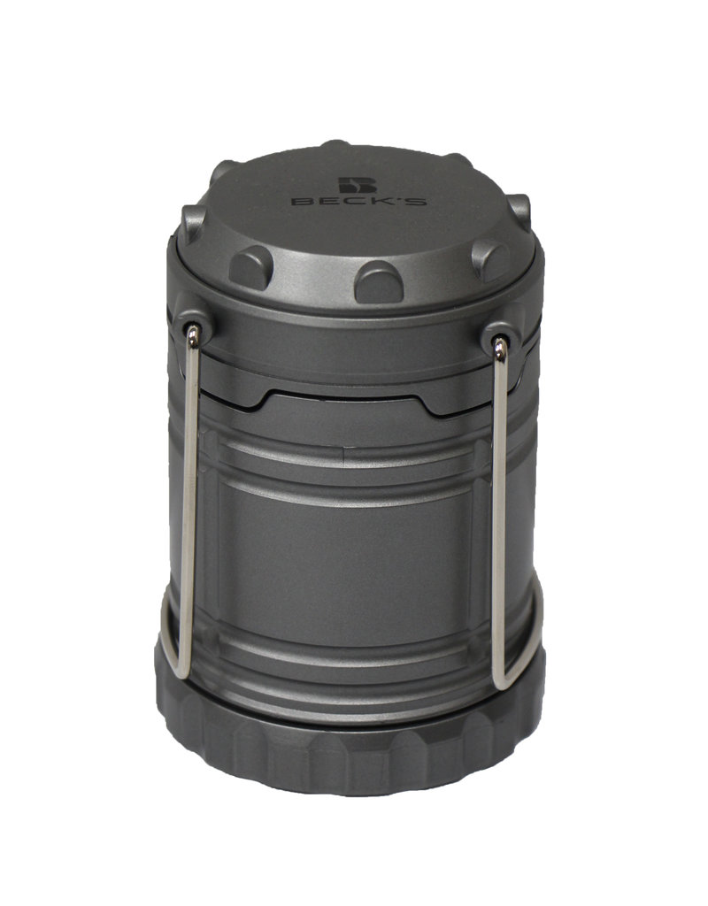 N/A Retractable LED Gray Lantern