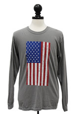 Comfort Colors Comfort Colors Flag L/S T-Shirt