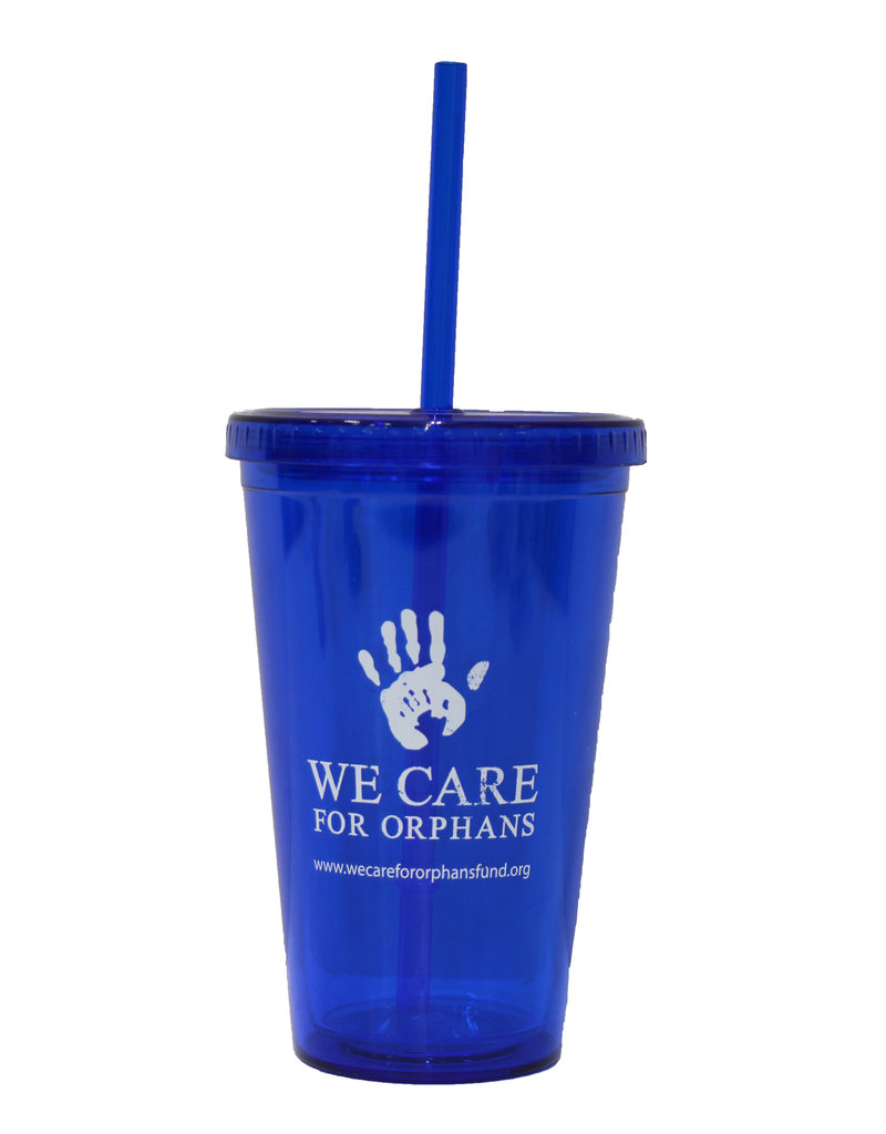We Care for Orphans Tumbler