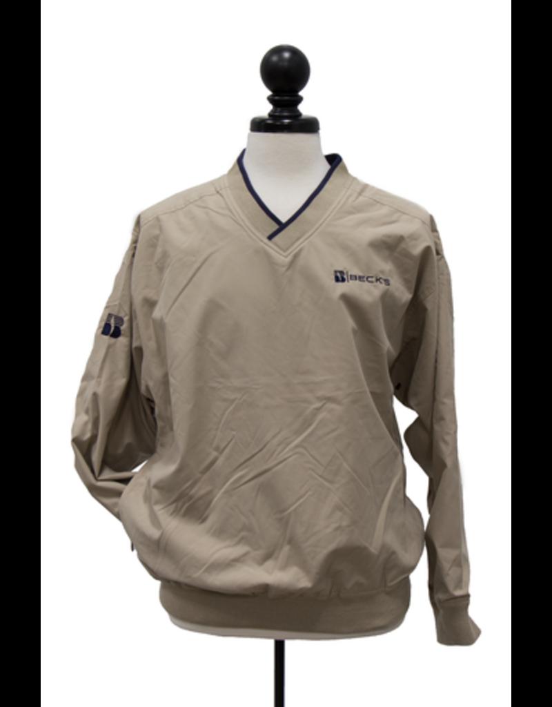 N/A Men's Lined Microfiber Windshirt