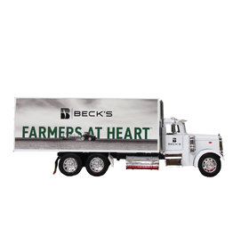 New Ray Peterbilt 379 Box Truck - 1:32 Scale