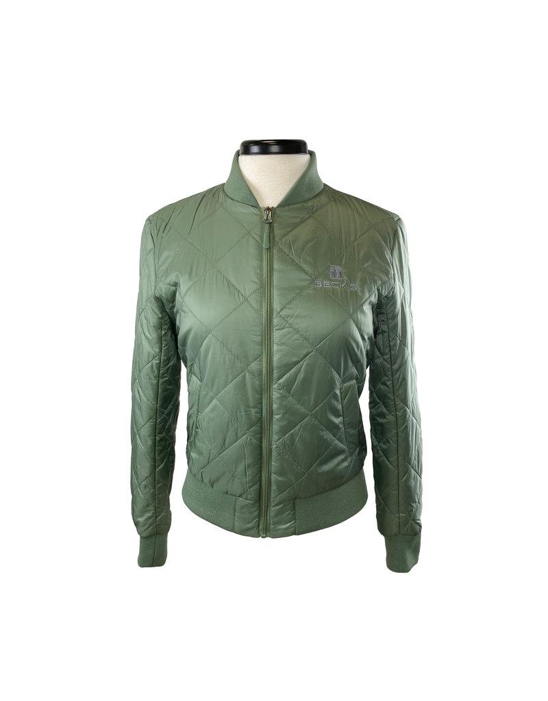 Weatherproof 03339  Ladies Quilted Bomber Jacket