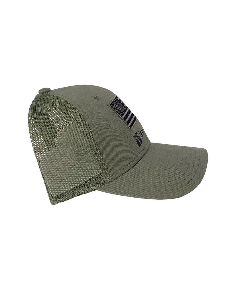 03260 Flag Patch Mesh Snapback Hat