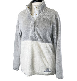 Boxercraft 03278 Women's Fuzzy Fleece Snap Up Pullover