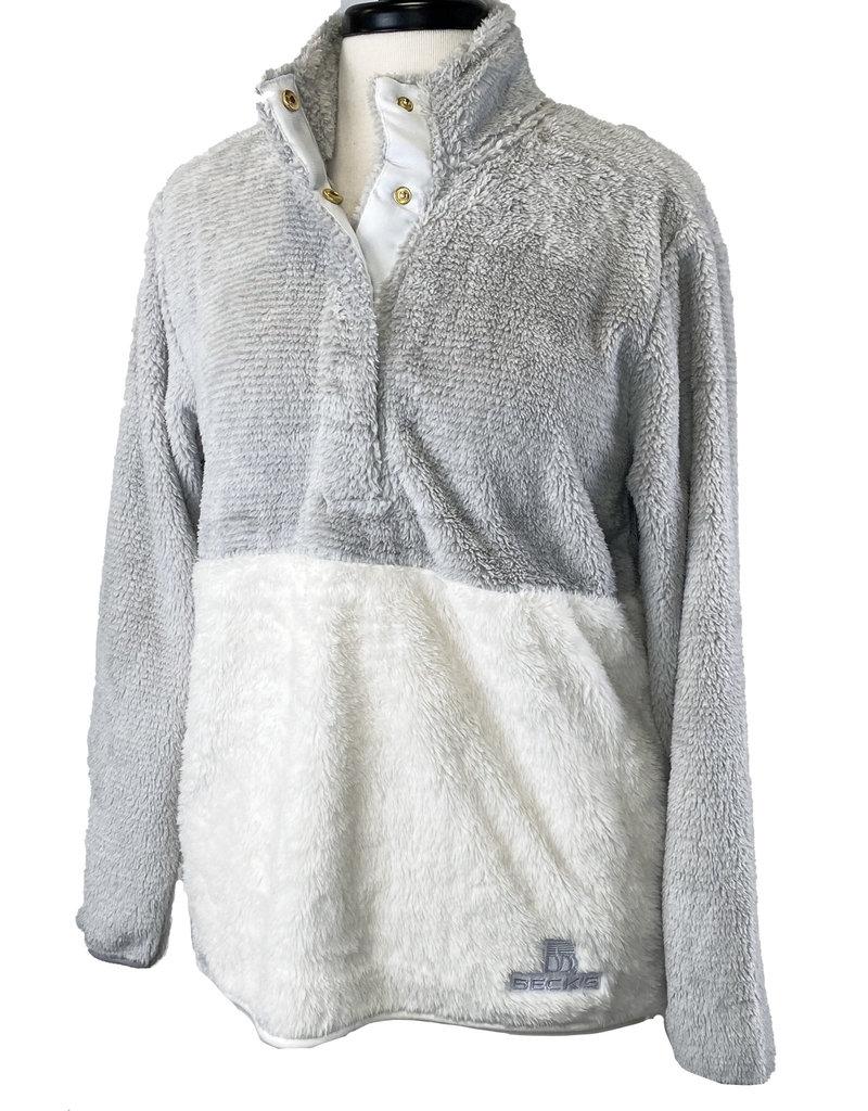 Boxercraft 03278 Women's Fuzzy Fleece Snap Up Pullover