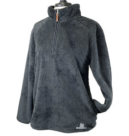 Boxercraft 03279 Women's Fuzzy Fleece 1/4 Zip Pullover
