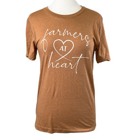 Bella + Canvas 03394 Farmers @ Heart T-Shirt