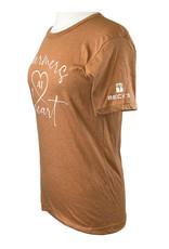 Bella + Canvas 03394 Farmers @ Heart T-Shirt