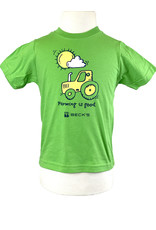 Rabbit Skins 03266 Toddler Farming Is Good T-Shirt