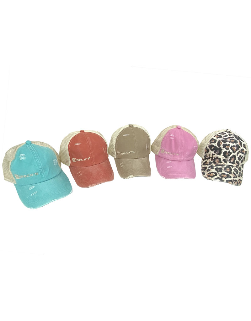 03374 Ponytail  Hat