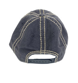 03227 Youth Charcoal/Khaki Patch Hat