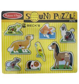 Melissa & Doug 03358 Melissa & Doug Pet Sound Puzzle