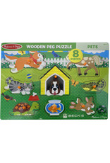Melissa & Doug 03357 Melissa & Doug Pet Peg Puzzle