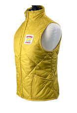 03113 Heritage Collection Womens Gold Quilted Vest