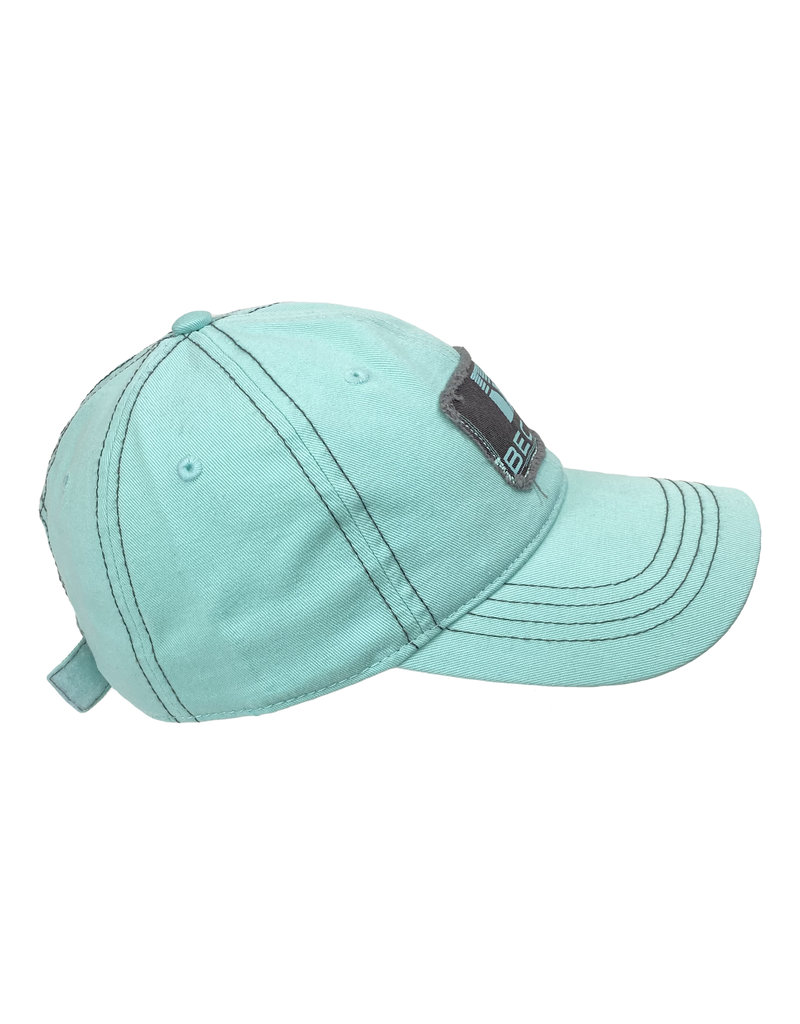 03270 Women's Unstructured Frayed Patch Hat