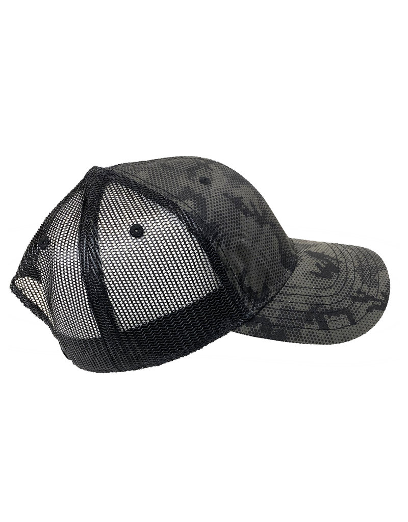 Cap America 03272 Black Digital Camo Mesh Hat