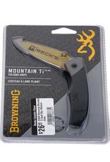 Browning 03099 Browning Mountain Ti Gold 50yr Medium Knife