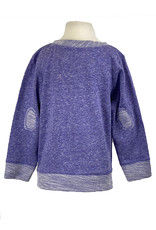 LAT 03265 Toddler Elbow Patch Crewneck