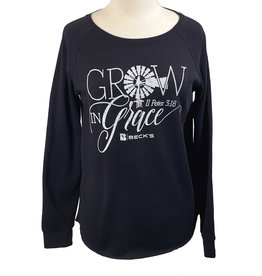 Independent Trading Company 03275 Grow With Grace Crewneck