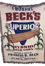 """03387 Beck's Tapestry Throw 48""""X 36"""""""