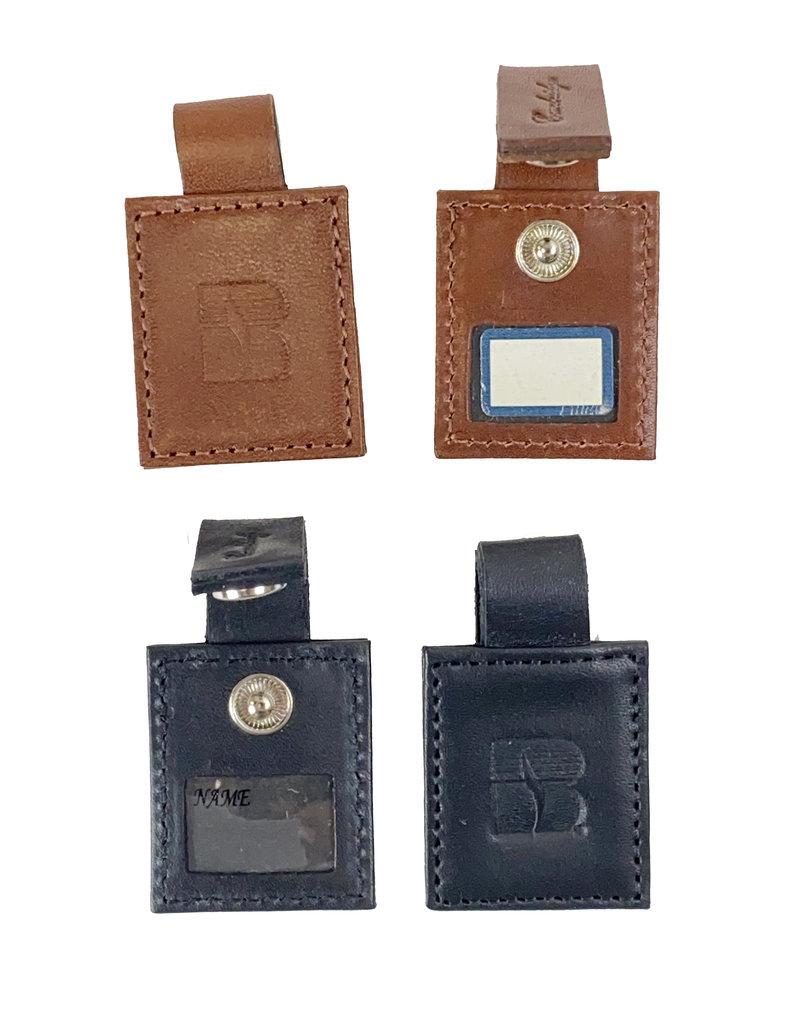 03437 Leather Key Tag