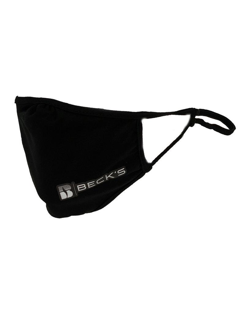 Sport-Tek 03439 Black Sport-Tek Adjustable Face Mask