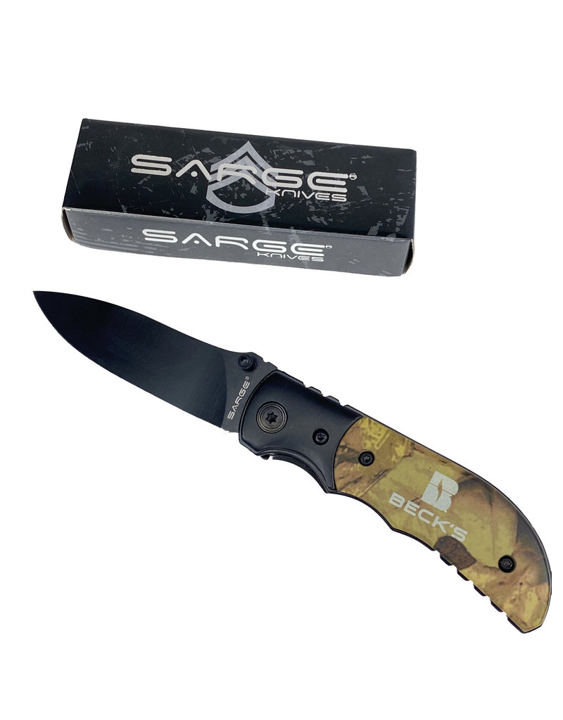 03345 Sarge Forest Camo Knife