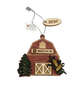 Tim Weberding Woodworking 03402 Barn Ornament