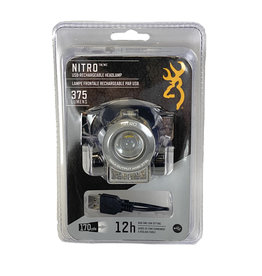 03418 Browning Nitro Headlamp - Rechargeable