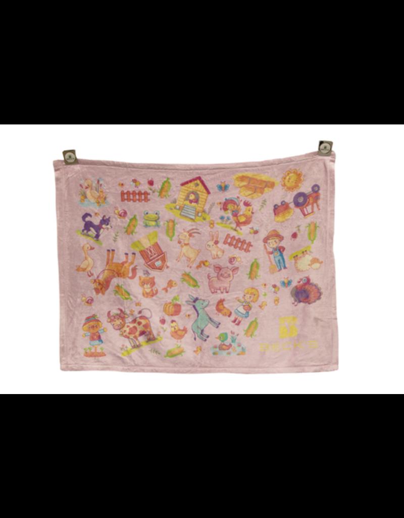 N/A 01998 Tahoe Microfleece Baby Blanket