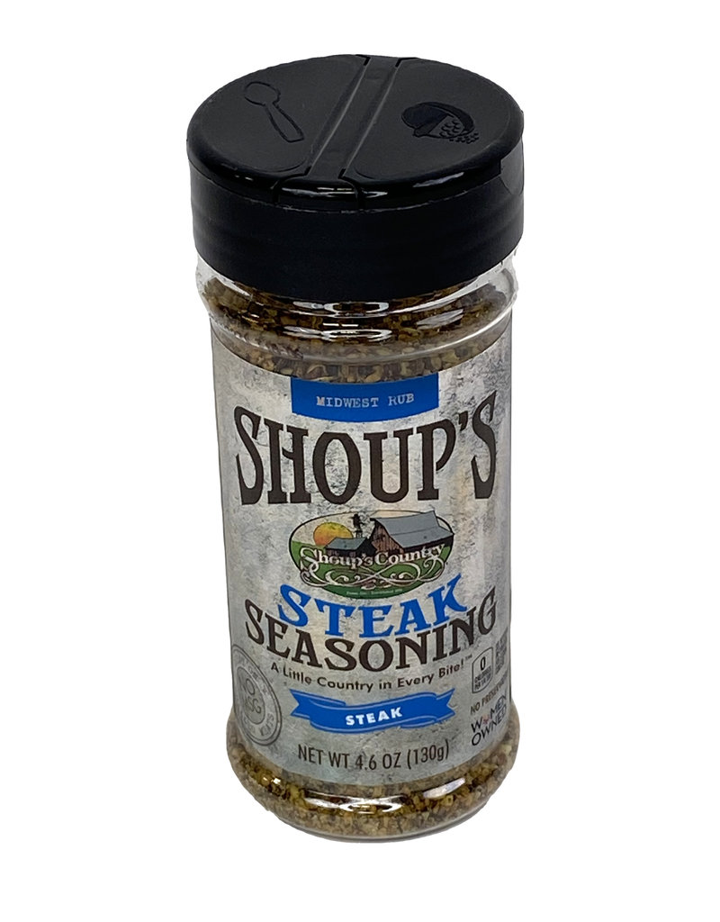 Shoups 03290 Shoup's Steak Seasoning 4.6 oz.